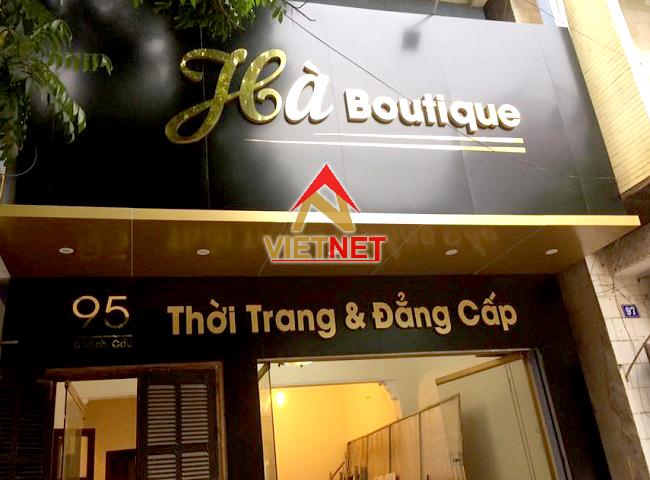 gia cong chu inox vang thoi trang ha boutique