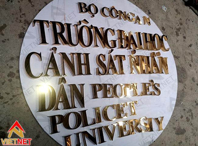 bang-hieu-chu-inox-vang-truong-dh-canh-sat-nhan-dan