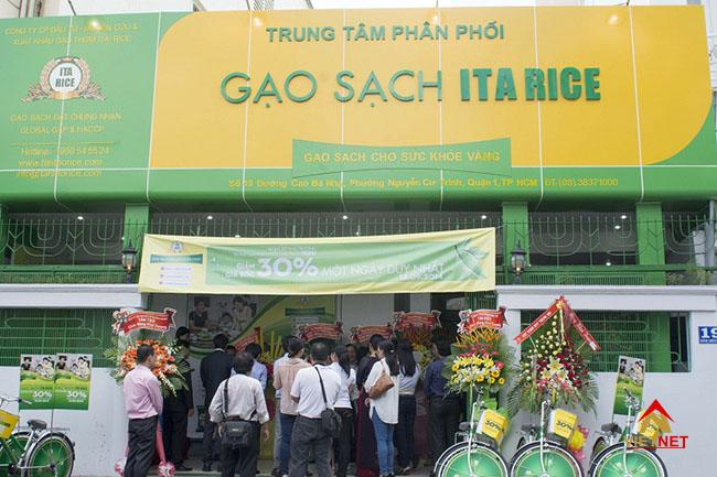 Bảng hiệu cửa hàng gạo 1