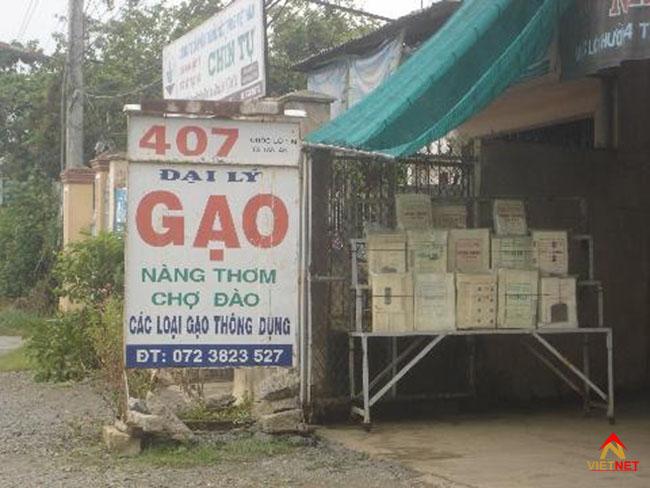 Bảng hiệu cửa hàng gạo 4