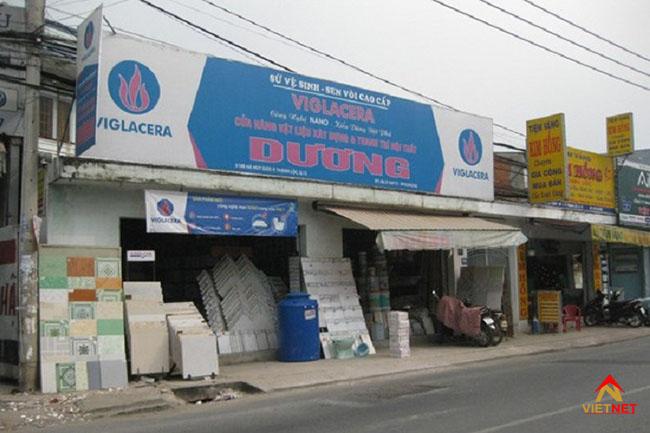 Bảng hiệu cửa hàng vật liệu xây dựng 2
