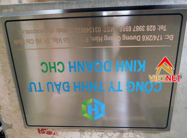 bảng ăn mòn kim loại công ty CHC