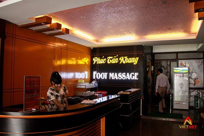 bảng hiệu massage