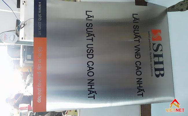 bảng hiệu inox ngân hàng
