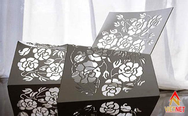 cắt laser hình hoa