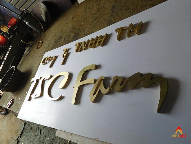 Chữ đồng TSC Farm 2