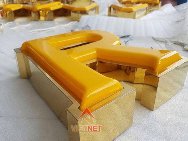 Chữ mica hút nổi tại VietNet