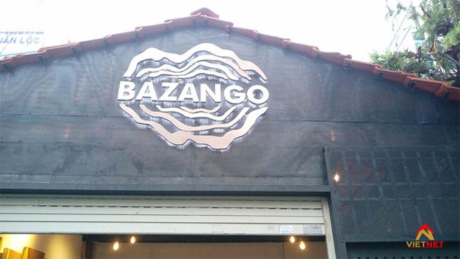 Chữ inox bazango 1