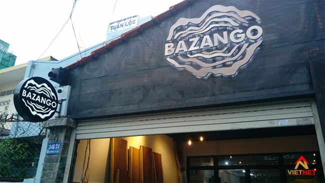 Chữ inox bazango