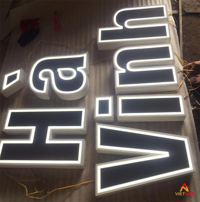 Chữ inox Hà Vinh 2