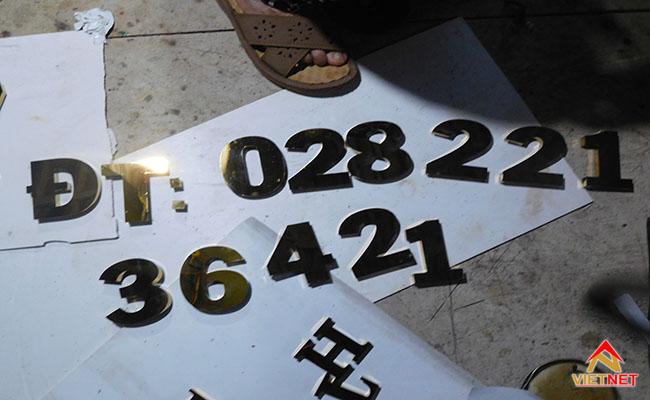 số điện thoại bằng chữ inox