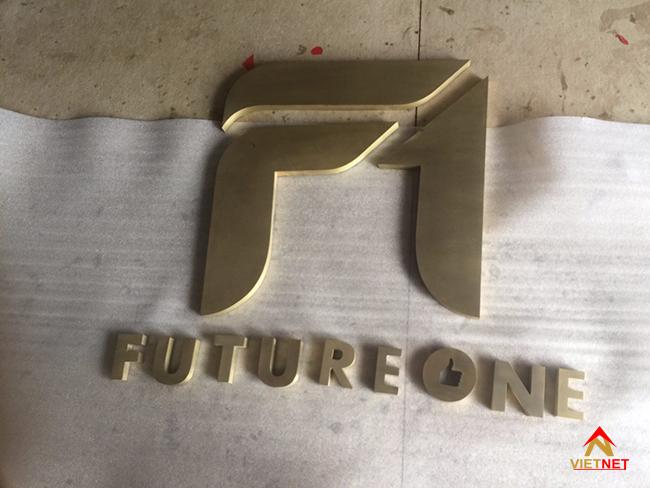 Chữ inox vàng futureone