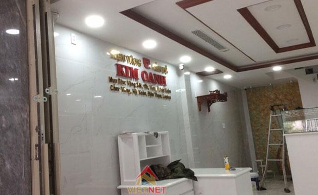 gia công chữ inox tiệm vàng