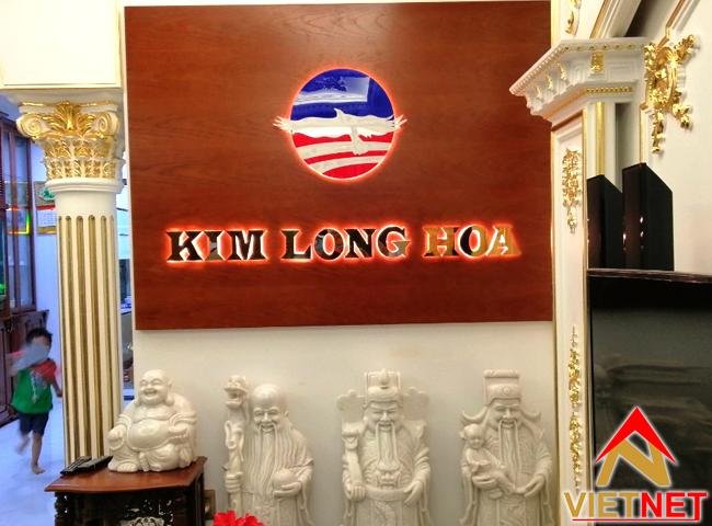 gia cong chu inox vang Kim Long Hoa