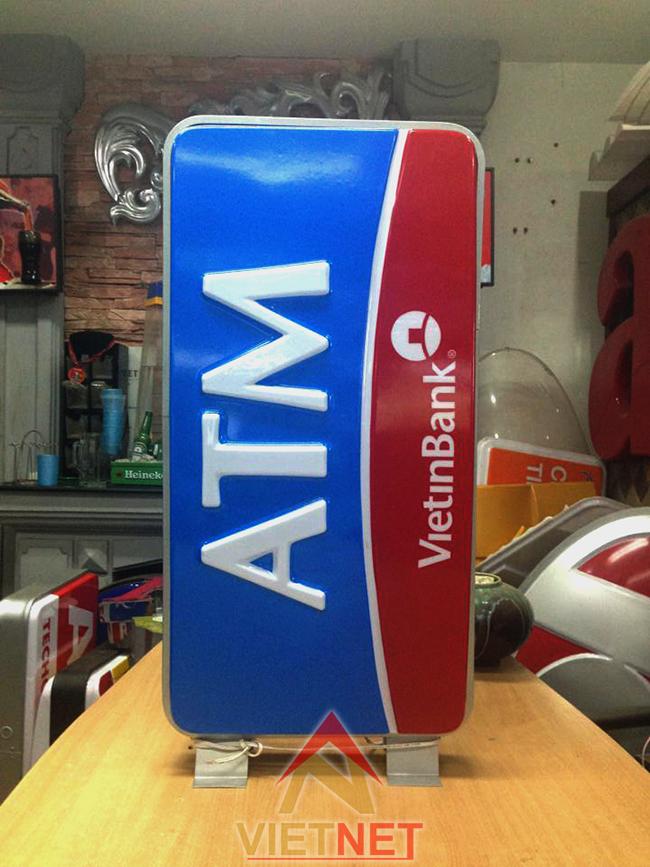 Hộp đèn mica hút nổi ATM