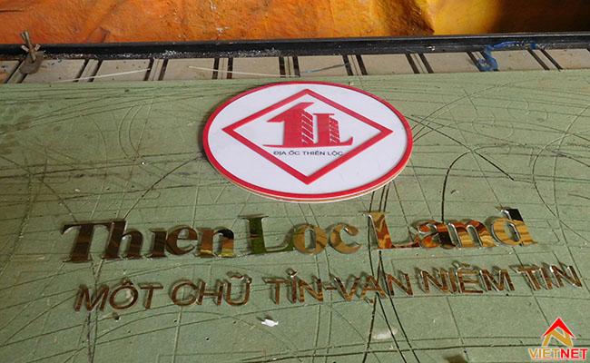 logo và chữ bất động sản