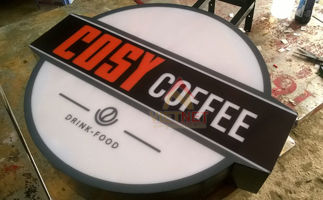 Hộp đèn Cosy Coffee