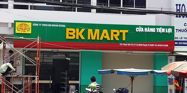Mẫu bảng hiệu siêu thị