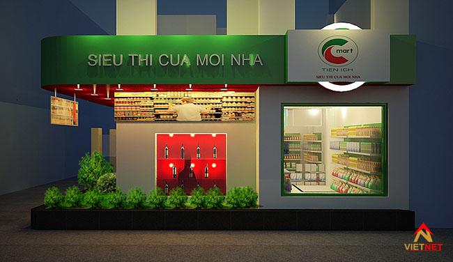 Mẫu bảng hiệu siêu thị 3